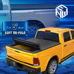 For 05 19 Nissan Frontier 5 Bed Tri fold Soft Trunk Tonneau Cover Replacement