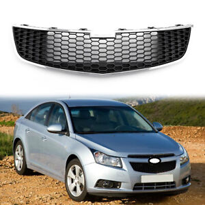 Grille Overlay Lower Bumper Grille Inserts Trim Covers For 2009 2014 Chevy Cruze