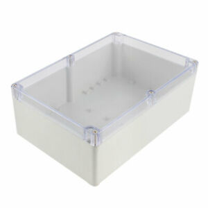 Clear Cover Electronic Project Junction Box Enclosure Case 262 X 182 X 95mm