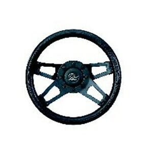 Grant 414 Challenger Steering Wheel With Matte Black Spokes 13 5x3
