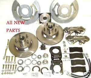64 65 66 Fairlane Mustang Comet Factory Disc Brake Conversion Wheel Kit