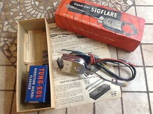 Signal stat Sigflare Turn Signal Switch With Flasher Auto Truck Direction Nib 6v