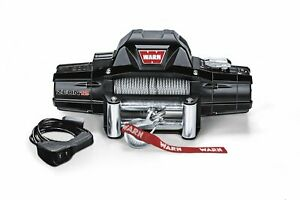 Warn 89120 Zeon 12 Winch With Wire Rope 12000 Lb Capacity