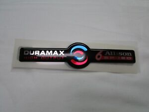 Duramax High Output Ho Diesel Allison Transmissions Six Speed 6 Speed Emblem