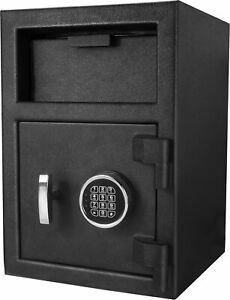 Barska Steel Digital Depository Safe Pin Code Drop Slot Security Box Ax12588