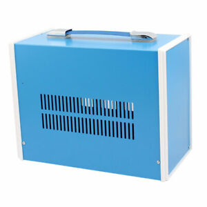 Metal Electronic Project Junction Box Enclosure Case Blue 270mm X 202mm X 130mm