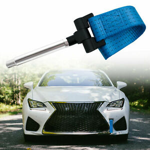 Blue Bumper Track Sports Racing Tow Hook Strip For Lexus Is Ct Gs Ls Rc Rx 06 18