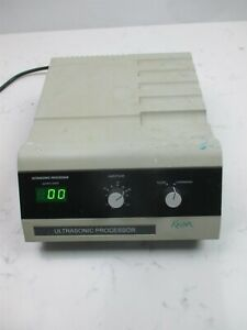 Cole Parmer Ge 130pb Ultrasonic Processor Pulsed Continuous Variable Speed