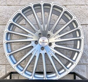 22 Rayanni Ra20 Silver Concave Wheels Fits Bmw G11 G12 740 750 760