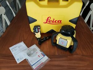 Leica Rugby 610 Rotary Laser Alkaline Pack