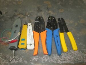 6 Pieces Ideal Crimpmaster Paladin Tools Electrical Crimp Pliers Tool