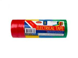 25 Pack Color Coded Electrical Tape Ul 723 Codes 2 Each Blue Red Green Yellow