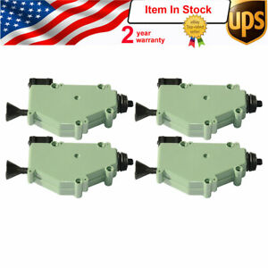 Central Locking Actuator Zv Electric Vw Transporter T3 T4 255959781 kit Of 4pc