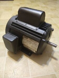Craftsman 1 Hp Single Phase Ac Electric Motor 56 Frame 115 230 Volts 60 Hz