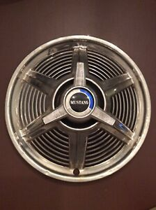 1965 1966 Ford Mustang Oem 14 Inch Hubcap Wheel Cover B