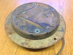 Early Flange Mount Signal Stat 703 Arrow Turn Signal Lamp Vintage Truck Bus Old