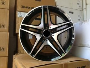 18 Amg Black Machine Rims Wheels Fits Mercedes Benz Glk Class Glk350 4matic 350