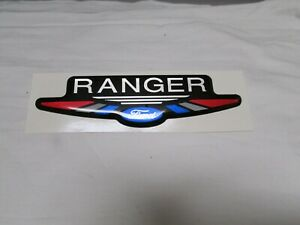 Ford Ranger Red White Blue Emblem