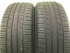 Set Of 2 Used Tires P205 50r17 93h Michelin Premier A s 2055017