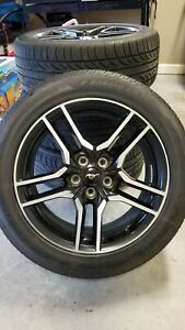 18 Ford Mustang Gt Oem New 2018 Wheels Rims Tires 2017 2019