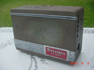 Vintage 1930 s 40 s Firestone Air Chief Car Radio Plymouth Ford Chevy Studebaker
