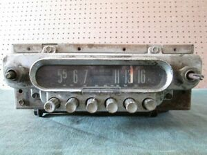 1950 49 50 51 Ford Car Truck Station Wagon Lo Noise Radio Oem Fomoco Untested