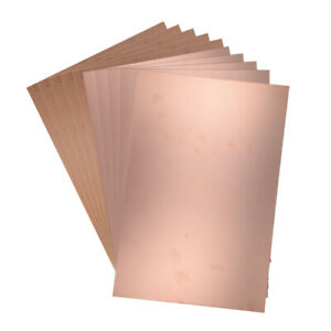 10pcs 300x200mm Single sided Copper Clad Laminate Pcb Circuit Bakelite Board