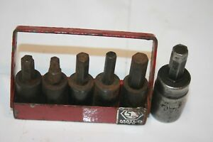 Matco Tools Allen Torx Socket Driver Set Break Set Usa