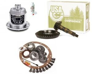 86 09 Ford F150 8 8 4 56 Ring And Pinion Aam 31 Spline Posi Lsd Usa Gear Pkg