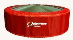 New Outerwears Cover For 14 O D X 6 Tall Air Filters Red Pre Filter 411 3