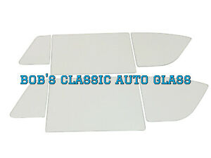 1952 Buick 2 Door Hardtop Classic Auto Glass Vintage 2dr Flat Windows Vintage