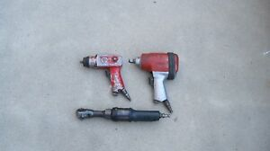Blue Point cornwell And Chicago Pneumatic Air Tools Lot