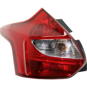Capa Tail Light For 2012 2014 Ford Focus Driver Side
