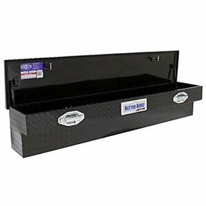 Better Built 79210996 Truck Tool Box Black Finish Side Mount Crown Series 60