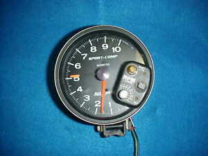 Autometer Sport Comp Monster Tach Tachometer With Shift Light 3903