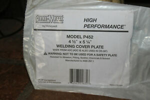 Fibre metal By Honeywell 4 5 X 5 25 Welding Hood Cover Plate P452 6 Of Them
