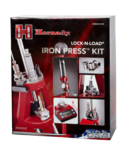 Hornady 085521 Lock-N-Load Iron Press Ammo Reloading Kit
