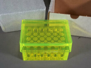 New Acrylic Beta Block Micro Test Tube Rack With Cover 39 place