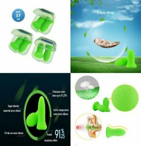 Reusable Sleep Earplugs For Noise Reduction 3 Pairs Highest 48 4db Nrr