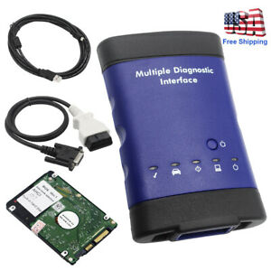 Multiple Diagnostic Interface With Wifi Hdd Soft For Gm Mdi Diagnostic Tool