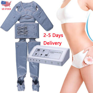 Pressotherapy Machine Slimming Detox Weight Loss Massage Apparatus Blanket Salon