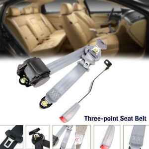 1 Set Automatic Shrink Seat Belt Three point Clip Buckle Safety Belt Extension