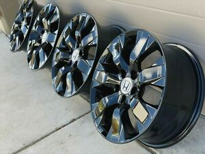 17 Honda Accord Sport Oem Factory Stock Wheels Rims 5x114 3 Sh Limited Black