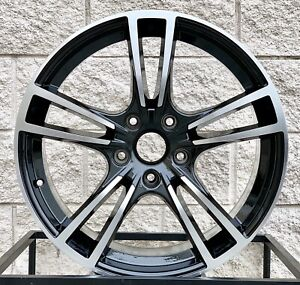 20 Wheels Rims For Porsche Cayenne Turbo Gts Black Machine Audi Q7 Wheels Tires