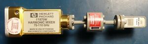 Agilent 11970w 75 110ghz Waveguide Harmonic Mixer W W Band 1mm Male Adapter