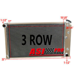 4 Row Aluminum Radiator For 1968 73 Chevy Chevelle 68 77 El Camino Gmc At Mt Usa