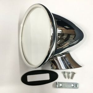 Triumph Large Bullet Door Mirror Oe Style Hac1528 Tr6 And Other Sportscars