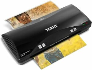 A4 Texet Hot Laminator Laminating Machine With Free Starter Kit Pouches