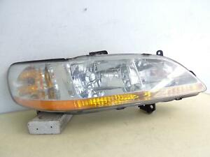 1998 1999 2000 2001 2002 Honda Accord Sedan Rh Passenger Headlight Oem