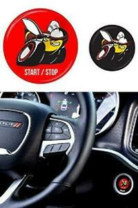 Jdl Autoworks 2015 2019 Dodge Charger Challenger Scat Pack Starter Button Decal